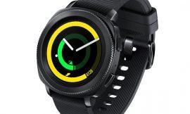 Smartwatch Samsung Gear Sport 1,2″, 4GB en negro por 109,00€ en negro antes 149,99€.