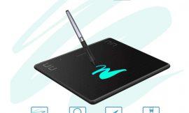 Tableta de dibujo Huion HS64, 6.3×4″, lápiz de dibujo, compatible con Android/IOS (OTG)/Windows/Mac por 33,73€ antes 44,98€.