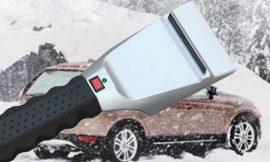 Rascador de nieve coches con calor por 8,99€.