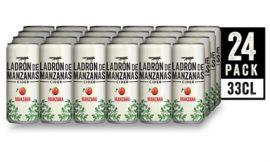24 latas de Ladrón de Manzanas Cider ( 24x 330ml) por sólo 22,85€