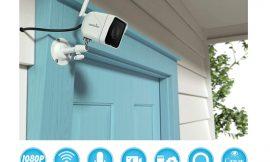 Cámara de vigilancia exterior Wansview W6 1080P HD, compatible Alexa, visión nocturna, detección de movimiento, audio bidireccional, IP66 por 19,99€ antes 39,99€.