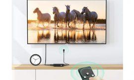 Switch HDMI 4K con 3 entradas y 1 salida Ugreen con mando conmutador por 9,99€.