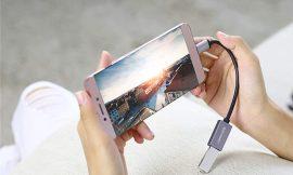 Adaptador USB 3.0 tipo C a USB 3.0 tipo A con tecnología OTG por 5,99€.