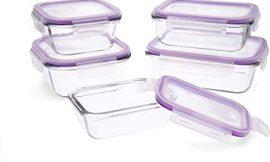 5 recipientes herméticos sin BPA para cocina por 9,59€.