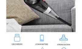 Aspirador de mano ciclónico, 6000Pa, sin cables, uso en seco/húmedo por 19,99€ antes 41,99€.