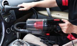 Aspiradora de mano para coche KKmoon, filtro HEPA, 150W/6000PA uso húmedo/seco por 23,79€ antes 35,99€.