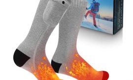 Calcetines térmicos eléctricos con tres intensidades de calor por 28,19€ antes 46,99€.