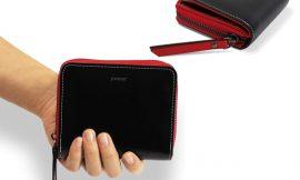 Cartera monedero Jivaner Compact Zip Walletcon con bloqueo RFID a mitad de precio: por 12,47€ antes 24,95€.