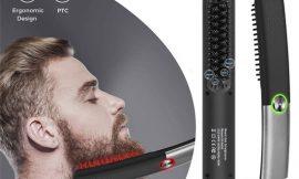 Cepillo alisador iónico para barbas y cabello Docooler por 17,99€ antes 29,98€.