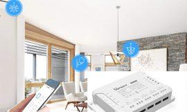 Interruptor inteligente WiFi, 4 canales, compatible con Alexa, Google e IFTTT por 26,59€ antes 37,99€.