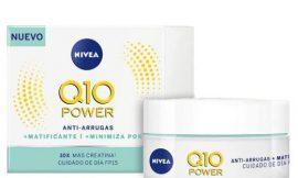 Crema antiarrugas Nivea Q10 Power para pieles mixtas con protección solar 15 por sólo 8,22€.