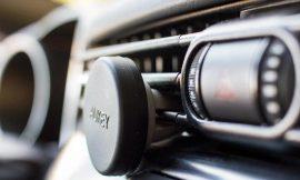 Oferta Flash! Probamos el soporte magnético de smartphone para coche Aukey, dos unidades por sólo 5,60€.