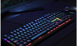 Teclado español para gaming/ofimática Aukey KM-G6, 105 teclas, anti-ghosting, retroiluminación led y placa de aleación de acero por 29,74€.