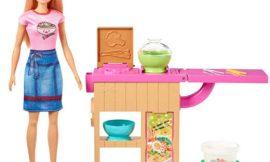 Barbie Restaurante Japonés con muñeca y accesorios por sólo 16,99€.