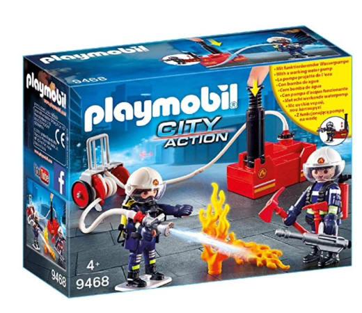 En este momento estás viendo Playmobil City Action bomberos con bomba de agua por sólo 11,20€.