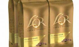 Oferta Navidad! 4 Paquetes de café en grano L'Or Classique (4x500g) por sólo 20,99€.