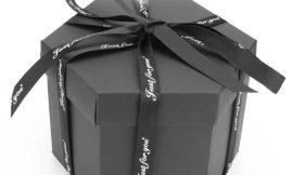 Caja sorpresa para regalos por 9,09€.