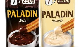Chocolate a la taza Paladin Noir o Blanco en paquete de 250 gramos por 1,73€.