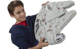 Star Wars, Halcón Milenario por 27,99€.