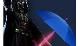 ¡Oferta flash! Paraguas sable luz por 15,39€.