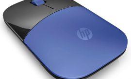 Ratón óptico inalámbrico HP Z3700 con 1200DPI para uso ambidiestro por sólo 11,09€.