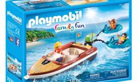 Playmobil Family Fun lancha con flotadores por sólo 16,80€. Antes 24,00€.