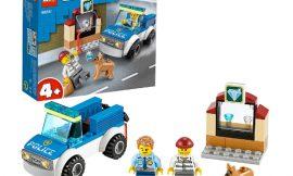 Set de construcción Lego City Police unidad canina por sólo 7,12€.
