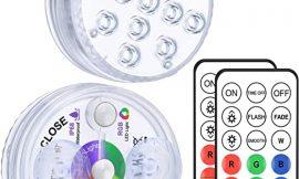Luz sumergible RGB con mando a distancia por 7,99€.