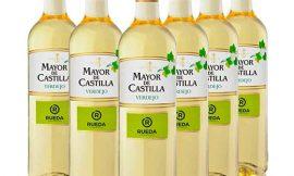 6 Botellas de vino blanco Mayor de Castilla Verdejo (6x750ml) por sólo 13,00€. Antes 21,00€.