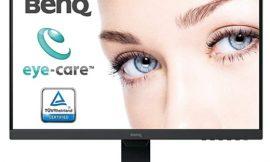 Monitor BenQ GW2480 de 23,8 pulgadas, FullHD (1920x1080p), brillo inteligente, Low Blue Light y antireflejos por sólo 99,99€.