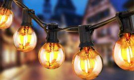 Tira de luces led efecto incandescente con 25 bombillas+2 de repuesto por 20,51€ antes 35,99€.