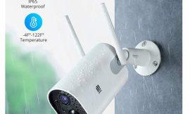 Cámara de vigilancia Wifi, 1080p, batería 15000mAh, audio bidireccional, visión nocturna, sensor de movimiento por 44,99€ antes 89,99€.