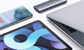 Carcasa para disco duro SSD M.2 Ugreen, UASP, 10Gbps, conectividad tipo C por 24,99€ antes 39,99€.
