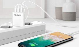 Cargador de red RAVPower, 3 puertos USB A 30W 5V/6A con tecnología iSmart por 6,99€.