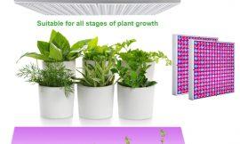 2 lámparas Hengda para el cuidado y crecimiento de plantas interiores por 38,39€ antes 63,99€.