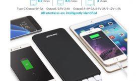 Batería externa Charmast QC/iSmart, 26800mAh por 26,59€ antes 37,99€.