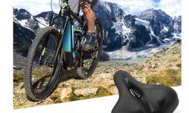 Sillín para bicicletas ergonómico con espuma de memoria, impermeable, amortiguado y transpirable por sólo 14,99€.