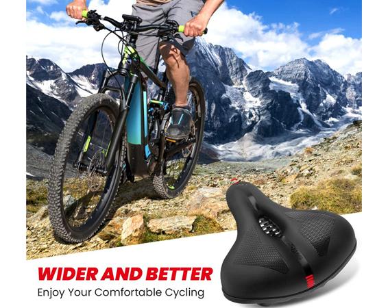 En este momento estás viendo Sillín para bicicletas ergonómico con espuma de memoria, impermeable, amortiguado y transpirable por sólo 14,99€.