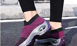 Zapatillas deportivas Sneakers transpirables sin cordones por 11,49€ antes 22,98€.