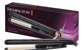 Oferta del día! Plancha de pelo Remington Ceramic Slim S3500 con placas de cerámica y anti-estática por sólo 24,99€.