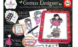 Gorjuss Designer, Dibuja y colorea a tu muñeca Gorjuss con la mesa de luz de Borrás por 14,69€