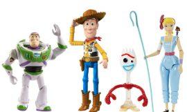 Pack de 4 figuras de Toy Story 4 por sólo 23,10€.