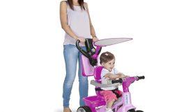 Triciclo evolutivo Feber Tryke Baby Plus Music por 49,99; en tiendas a 84,99€ y Baby Plus con música por 74,85€; antes 99,99€.