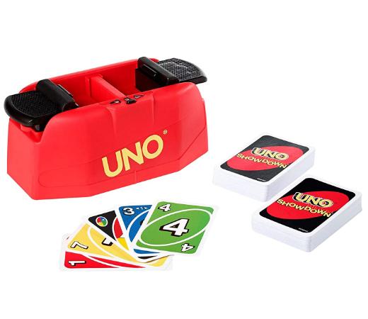 En este momento estás viendo Juego de cartas Uno Showdown de Mattel por sólo 15,99€.