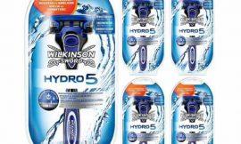5 Maquinillas de afeitar Wilkinson Sword Hydro 5 Blue con 5 hojas por sólo 13,68€.
