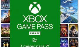 Xbox Game Pass para PC 3 Meses por 19,98€. Antes 29,90€.