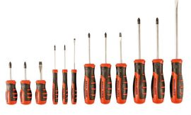 Juego de 12 destornilladores Black&Decker BDHT0-66451 con punta magnética por 19,90€.