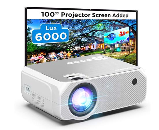 En este momento estás viendo Proyector portátil Wifi LCD LED Bomaker, 6000 lúmens HDMI/ VGA/ AV/ USB/ SD; Miracast, Airplay por 79,99€ antes 129,99€.