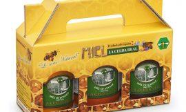 3 botes de miel natural de romero, azahar y miel de bosque Celda Real (3 x 500gr) por 18,65€.