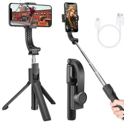 Palo de selfie Neewer con trípode y estabilizador One-Axis, anti-vibraciones, control remoto por 18,59€ antes 30,99€.